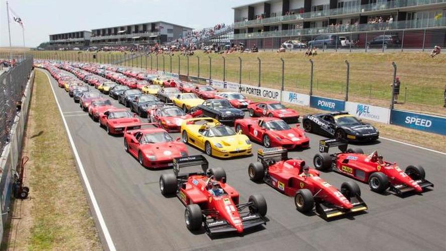 140 Ferraris invade Hampton Down MotorSport Park for New Zealand Festival of Motor Racing