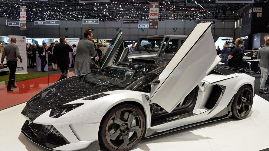 Mansory Carbonado GT is a twin-turbo Lamborghini Aventador with 1600 HP