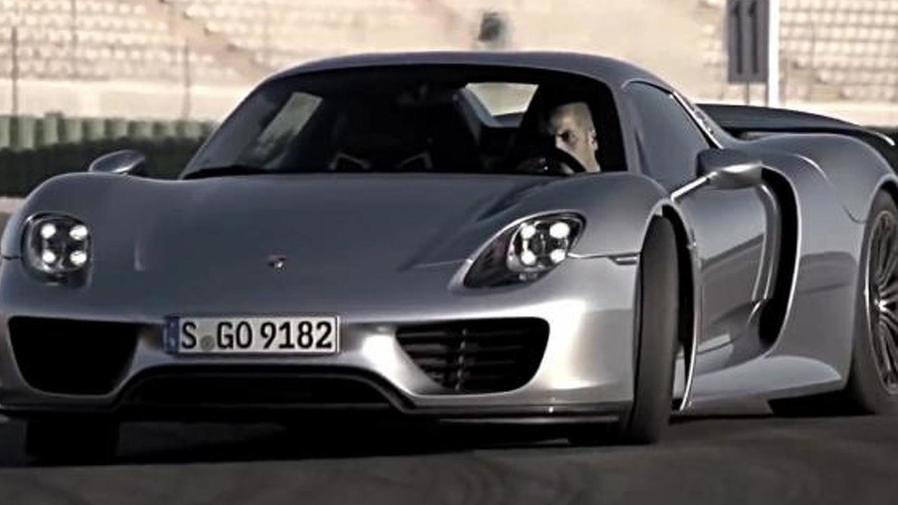 Chris Harris in Porsche 918 - Drive 2014 trailer screenshot