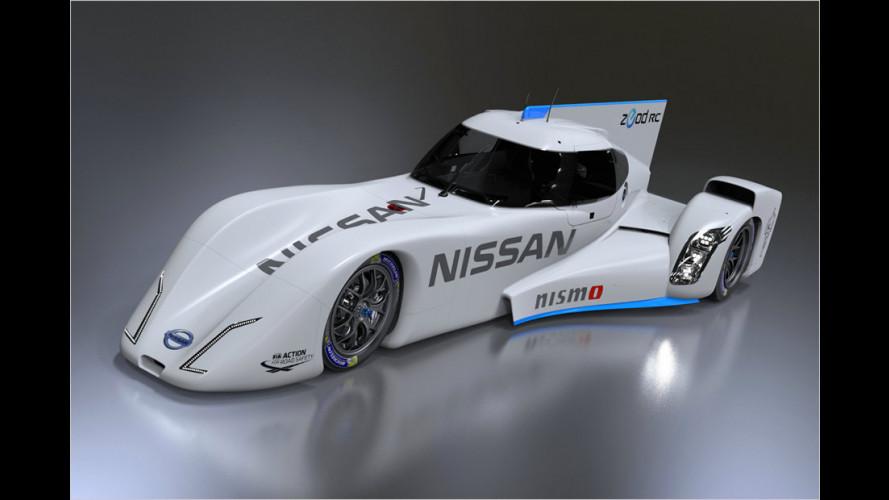 Le-Mans-Renner Nissan Zeod RC in Japan enthüllt