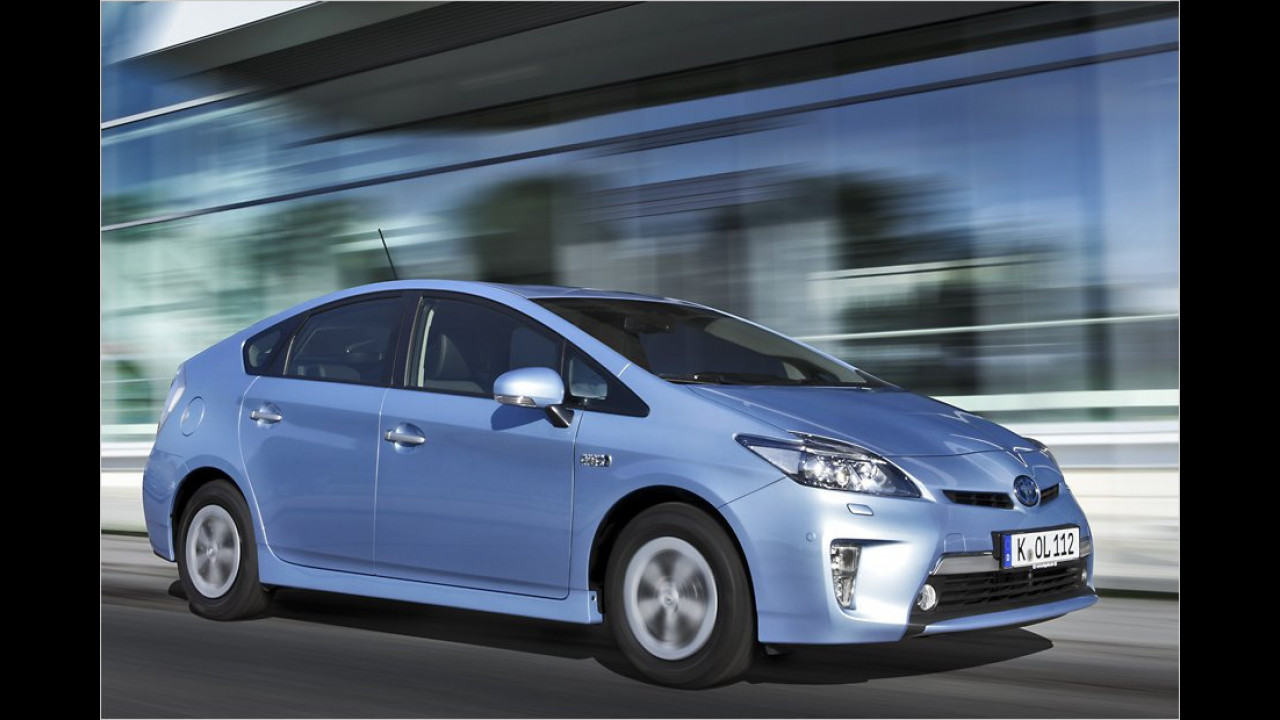 VCD Auto-Umweltliste, Platz 3: Toyota Prius Hybrid, 7,53 Punkte