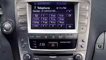 New Lexus Navigation System in Lexus IS Range