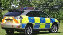 Lexus RX400h Hybrid Faces Police Trial (UK)