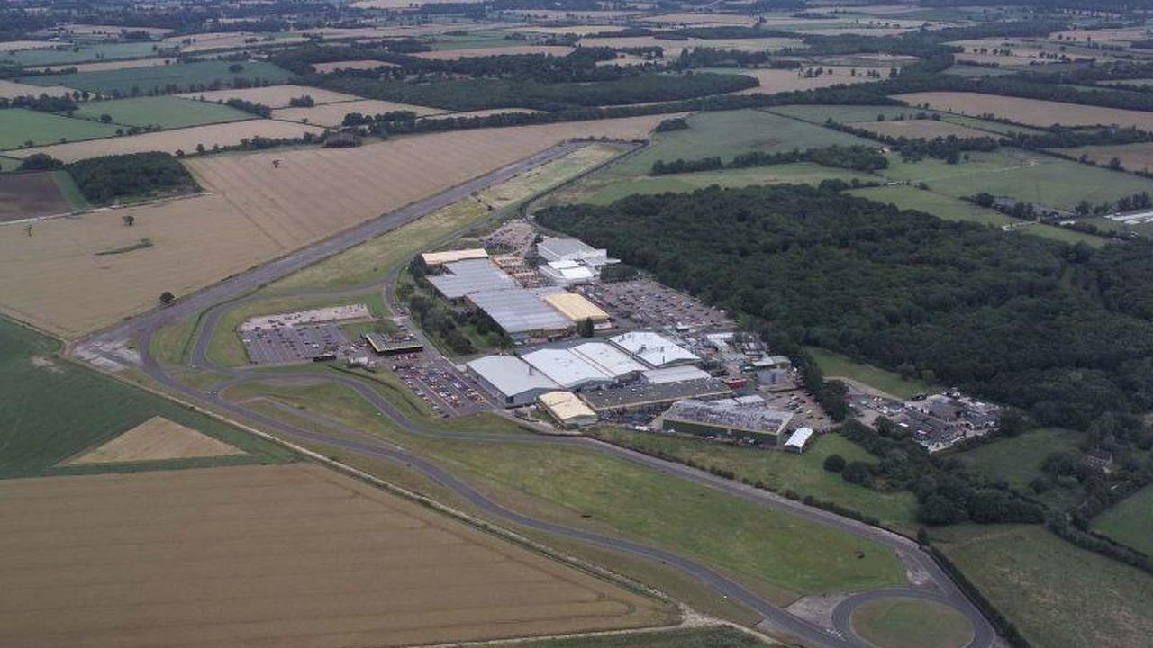 Group Lotus Headquarters at Hethel, Norfolk, UK