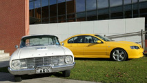 Ford Falcon - 45 years apart