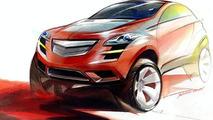Chevrolet T2X Concept Car Debuts at Seoul Motor Show