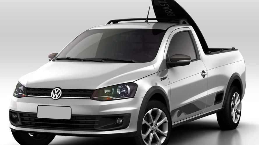 Volkswagen unveils Saveiro Surf in Brazil
