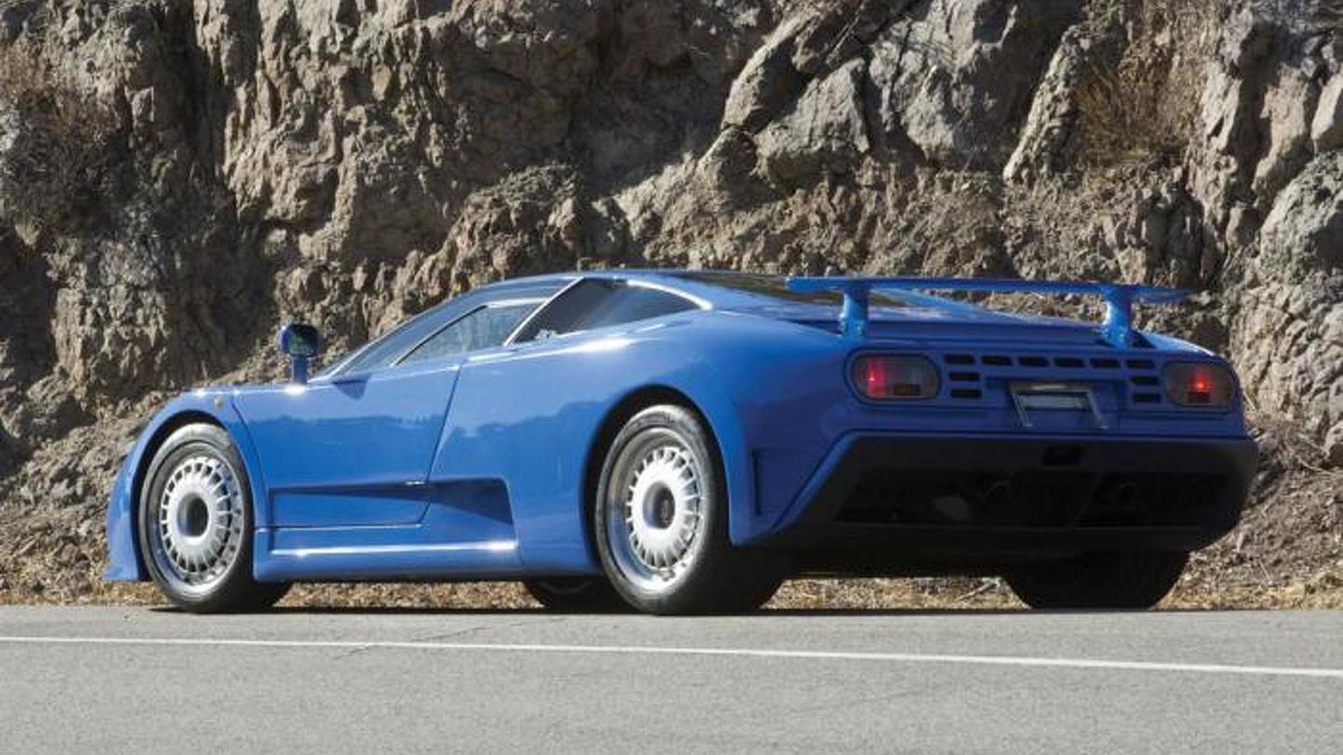 Суперкар Bugatti EB110 GT 1993 года выпуска