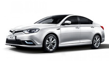 MG6 facelift presented with no mechanical changes