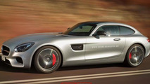 Mercedes-AMG GT Shooting Brake render