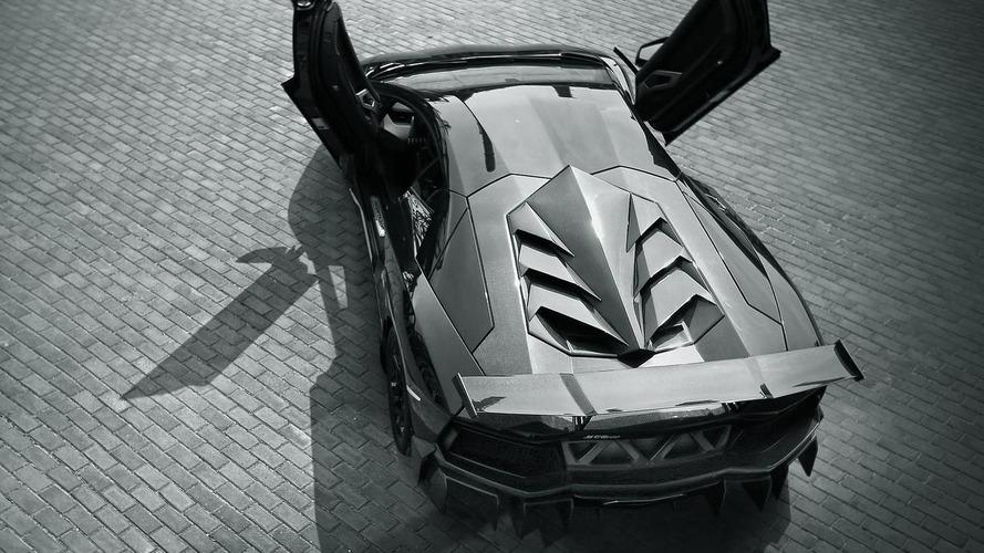 DMC shows sinister Lamborghini Aventador LP988 Edizione GT