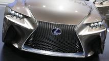 Lexus LF-CC concept live in Paris 27.9.2012