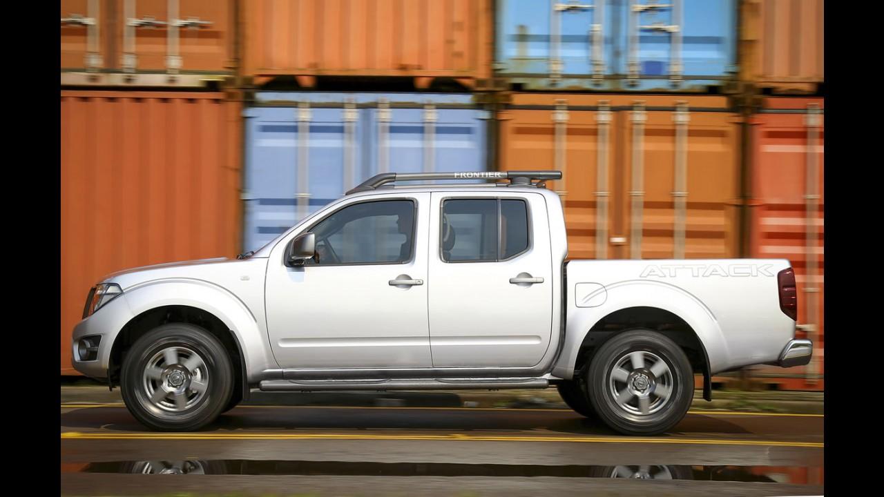 Nissan Frontier 2016 tem preços entre R$ 97.090 e R$ 150.290