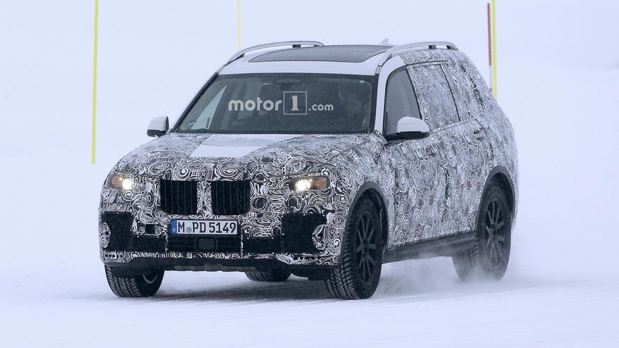 2018 BMW X7 spy photos