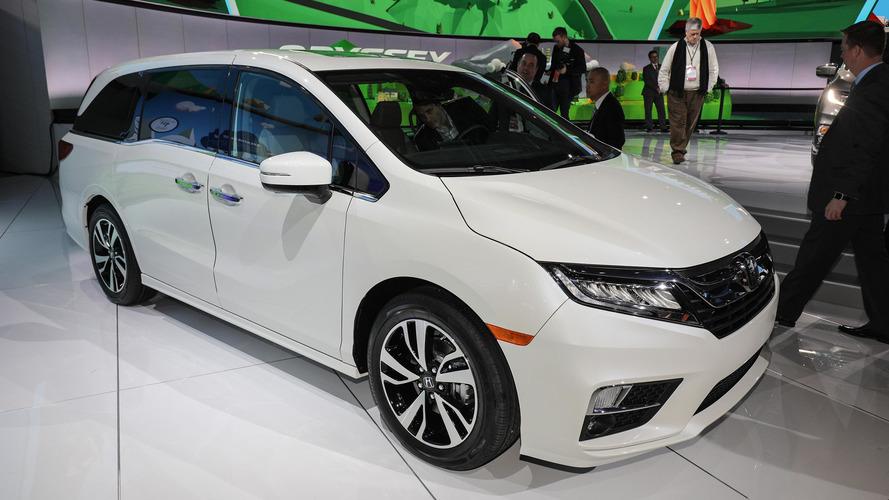 Honda Odyssey yeni teknolojilere sahip