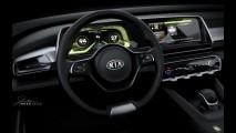Kia Telluride: veja a primeira foto interna do SUV inédito que estará em Detroit