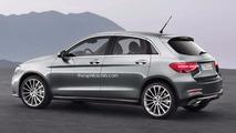 Une Mercedes pour concurrencer l'Audi A1 ?