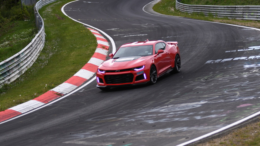 2017 Chevy Camaro ZL1 can lap the 'Ring quicker than a Koenigsegg