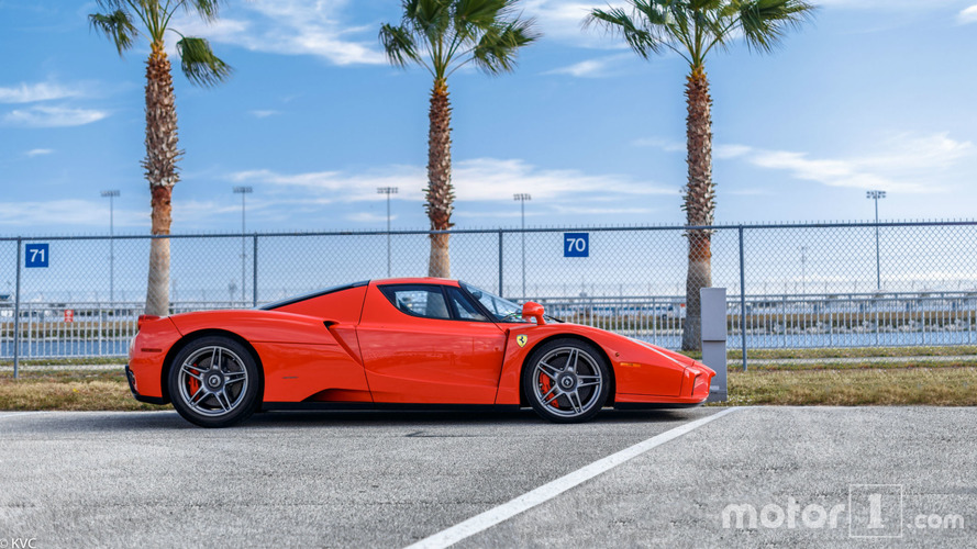 PHOTOS - Cette Ferrari Enzo a appartenu à Michael Schumacher