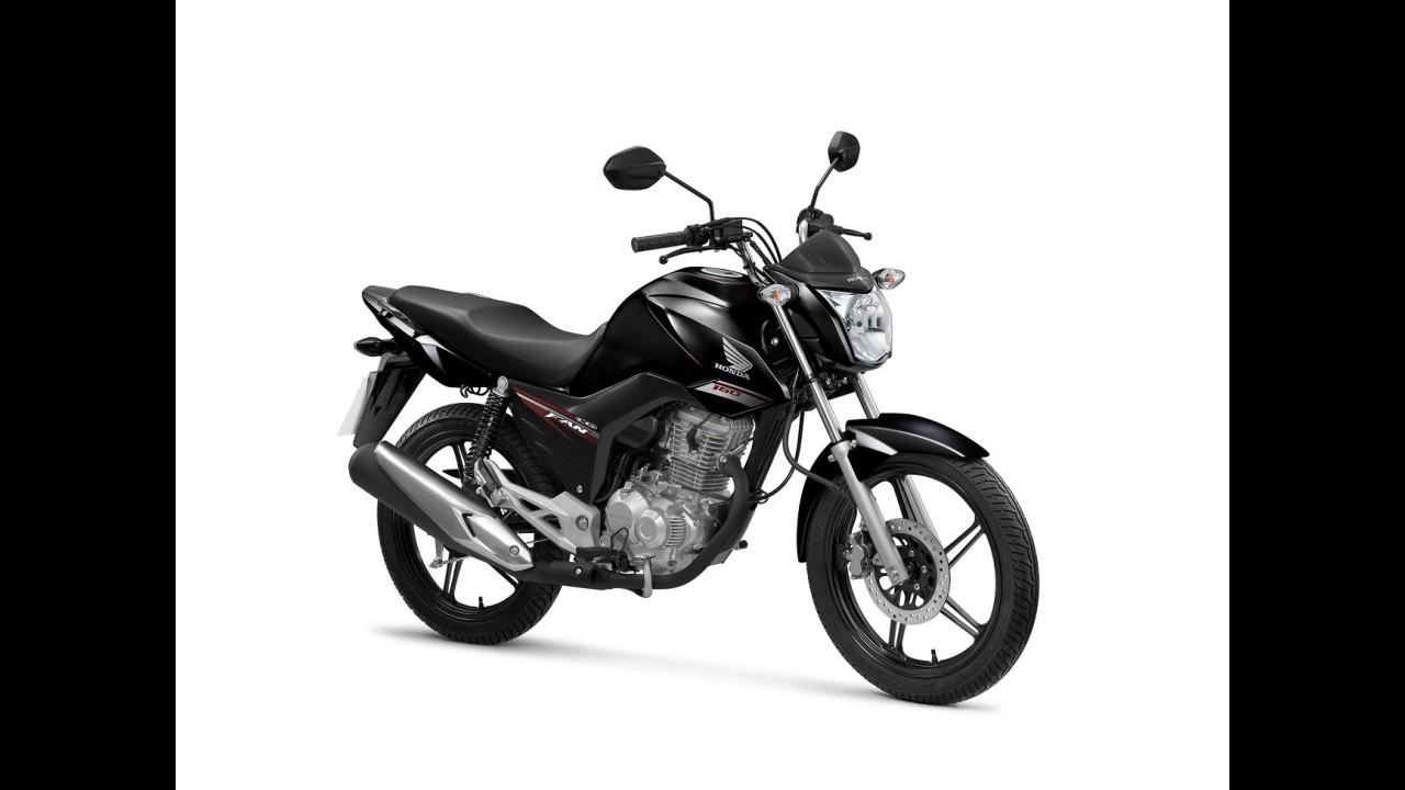 Honda CG 160 entra na linha 2017 com novos grafismos e freio combinado - veja preços