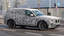 BMW X7 Spy Pics on Road