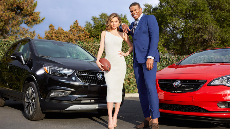 Buick taps Cam Newton, Miranda Kerr for light-hearted Super Bowl ad