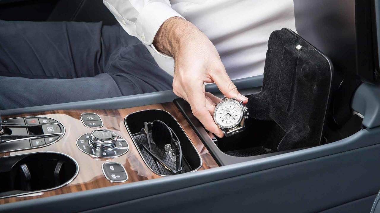 Bentley Bentayga Fingerprint Storage
