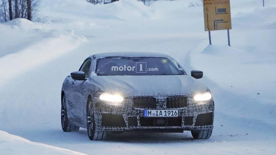 BMW 8 Serisi Cabrio casus fotoğraflar