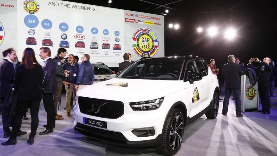 Volvo XC40, Avrupa'da 2018 yılının otomobili seçildi!