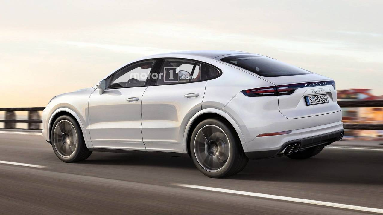 What If Porsche Made A Cayenne Coupe