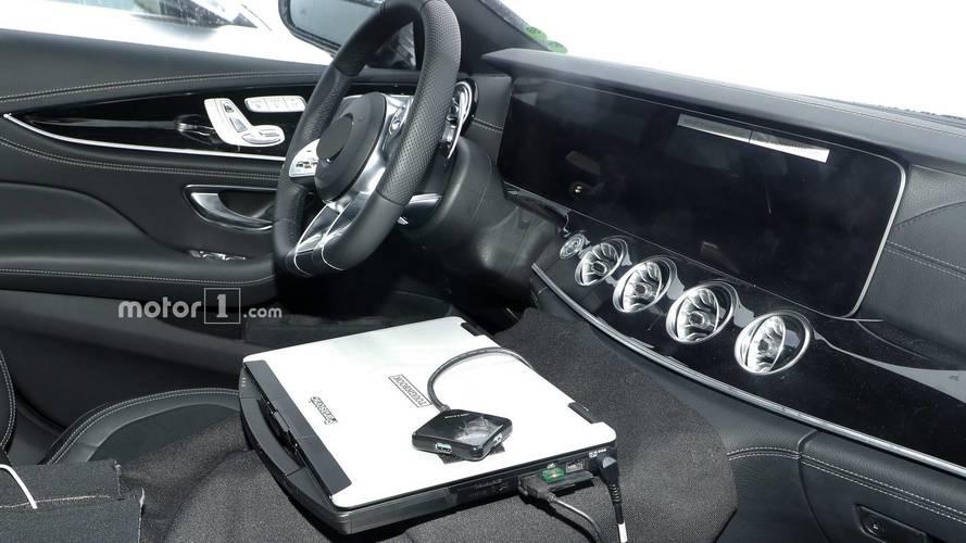 2019 Mercedes-AMG GT Coupe spy photos