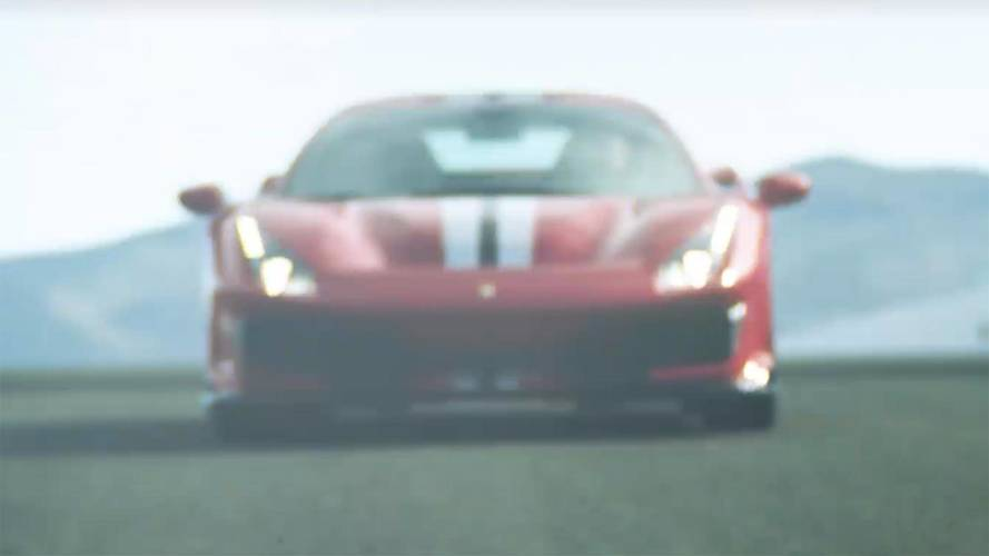 Ferrari 488 Special Series Teased On Video
