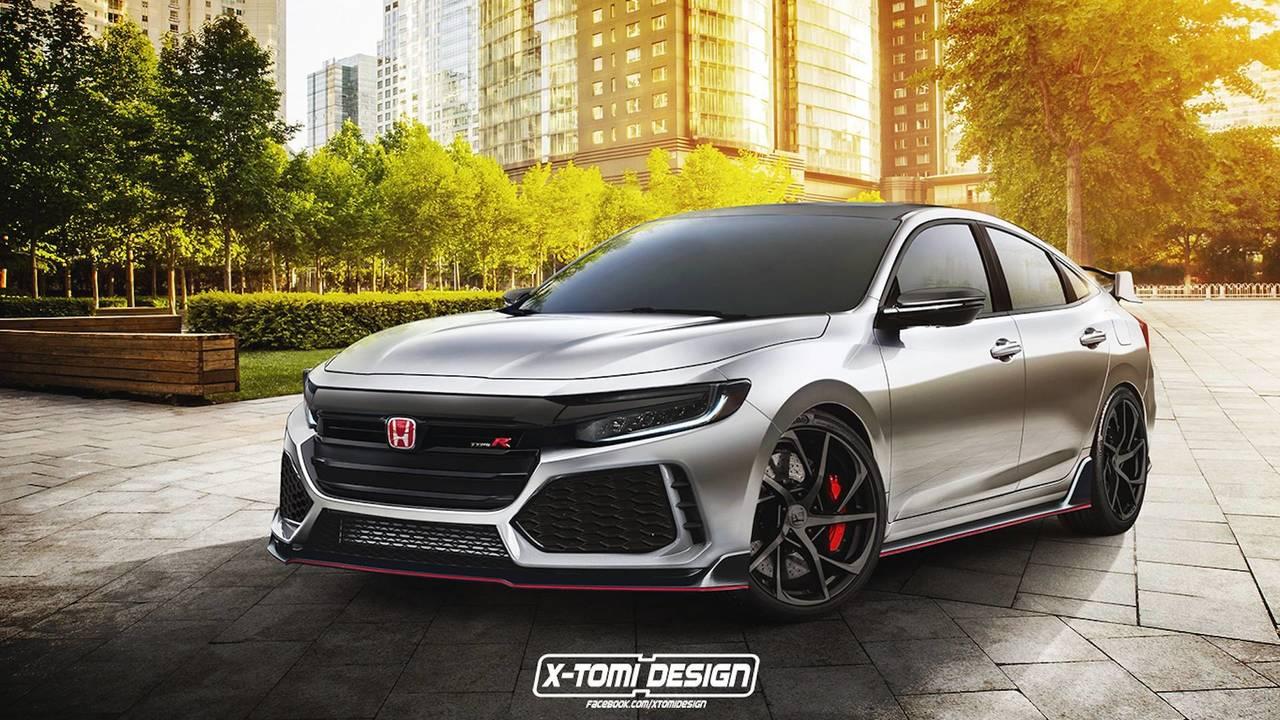 Honda Insight Type R Rendering