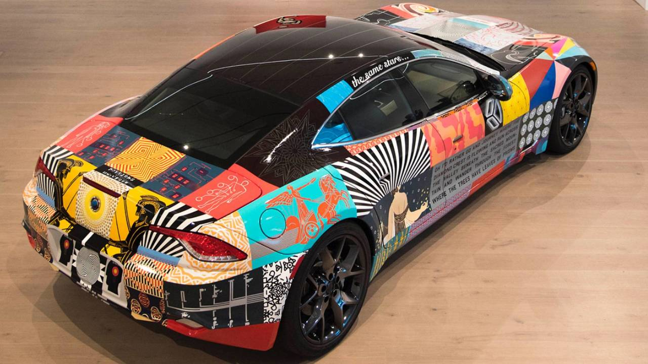 Karma Revero Art Car