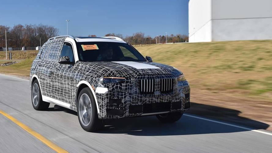 El BMW X7 2018 inicia, oficialmente, su fase de pruebas