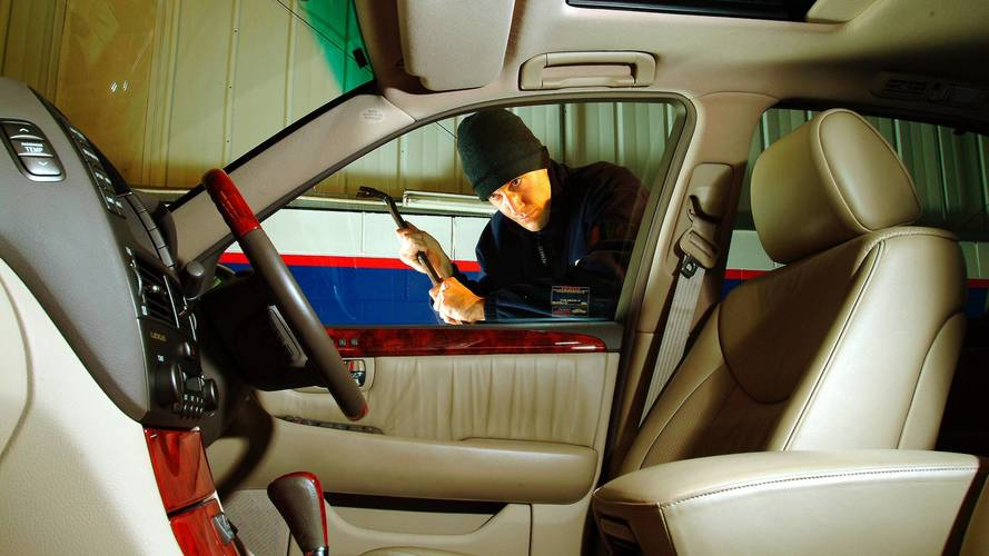 Vehicle break-ins rose 4% in 2016, data shows