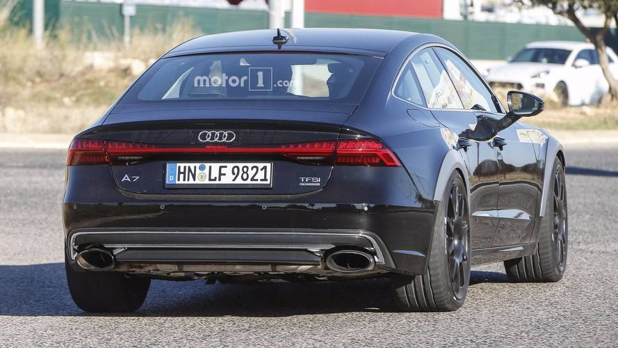 2019 Audi Rs7 Sportback Spy Photo Photo