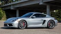 4. Porsche 718 Cayman S / Boxster S: 2.5L turbo H4, 350 beygir