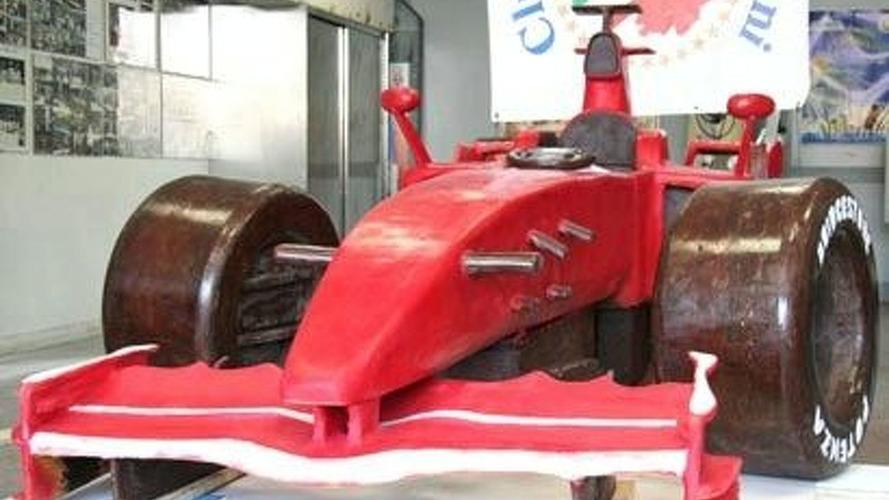 Chocolate Ferrari F1 Car Must be Eaten