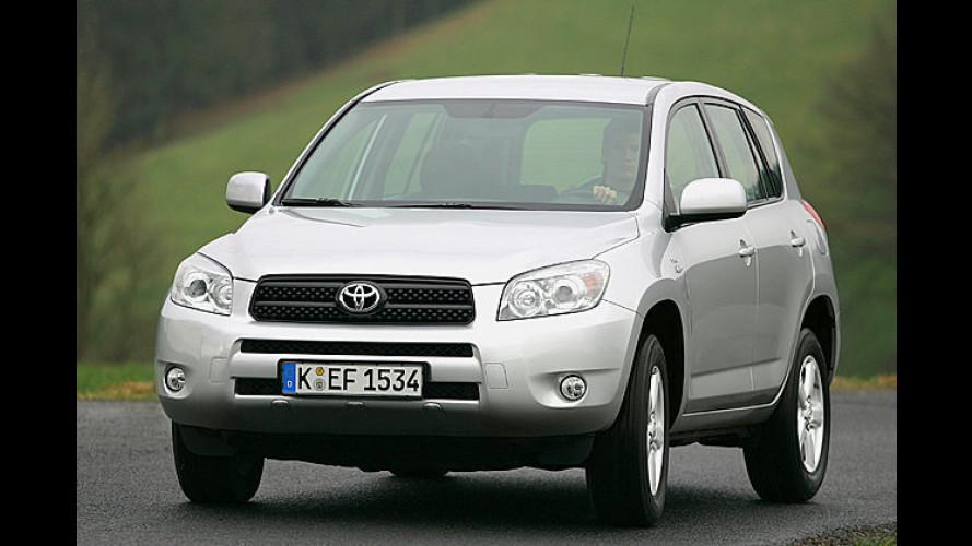 Toyota RAV4: Überarbeitete Ausstattung und Partikelfilter