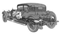 Bugatti Type 41 Royale Type #1 - Coach Weymann