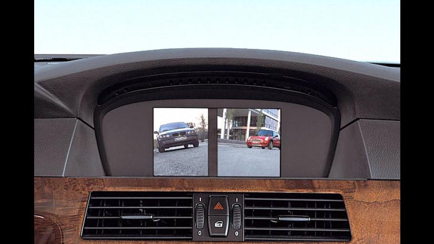 Rück-Sicht im BMW: Parken mit der versteckten Kamera