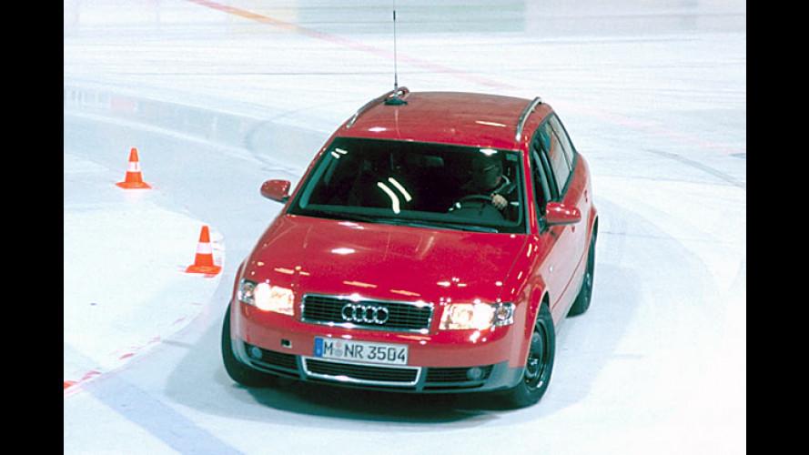 ADAC Winterreifen-Test 2005: Insgesamt gutes Abschneiden