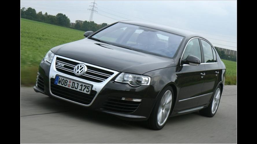 Super-Volkswagen Passat R36: Der Weg ist das Ziel