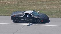 Mid-Engined Corvette Advanced Prototype Spy Photos