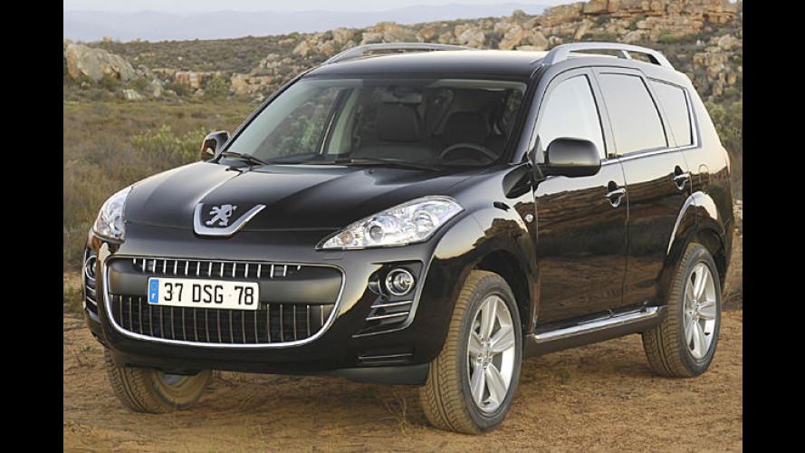 Peugeot nennt Preise und Ausstattungsdetails des 4007