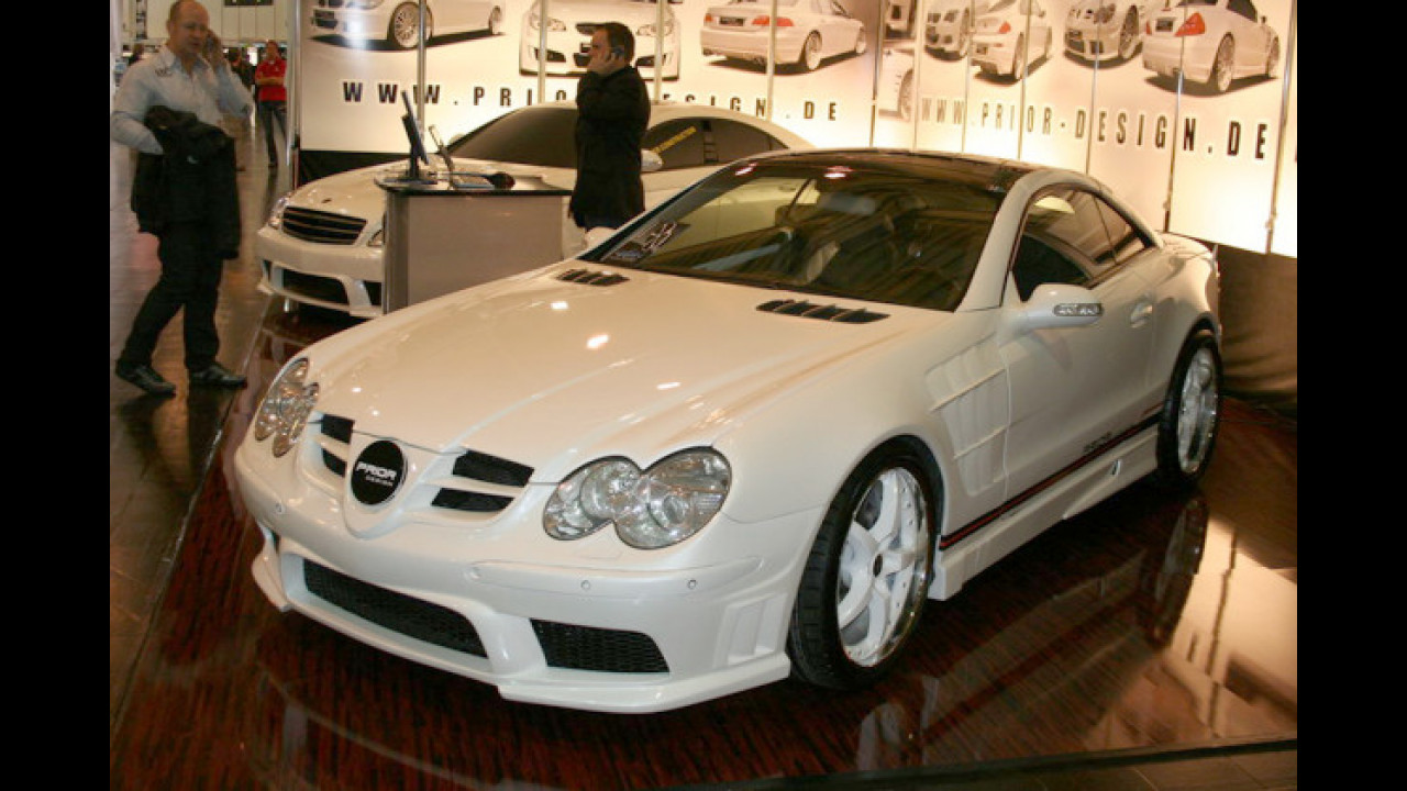 Mercedes SL R230 Prior Design