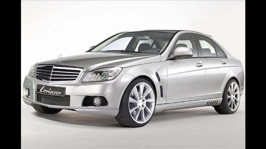 Scharfe C-Klasse: Lorinser tunt neuen Mittelklasse-Benz