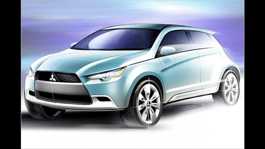 Zwischen Pkw und SUV: Mitsubishis Studie Concept-cX