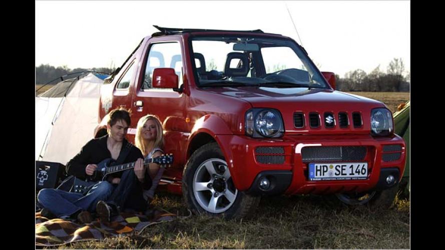 Juveniles Sondercabrio: Suzuki Jimny Rock am Ring
